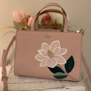Kate spade magnolia flower Sam bag